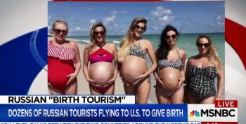 Russian 'Birth Tourists' Become Yet Another Trump Revenue Stream