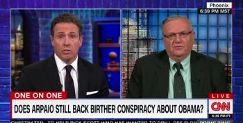 All Sheriff Joe Has To Offer Voters Is ... Obama's Birth Certificate