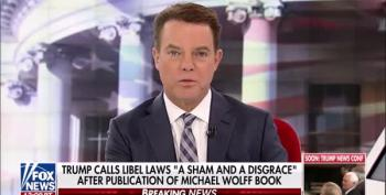 'He Is Not A King': Shep Smith Calls Trump Out On His Libel Law Nonsense