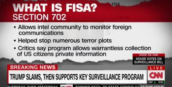 CNN Discusses Trump's Self-Harm With FISA Tweets