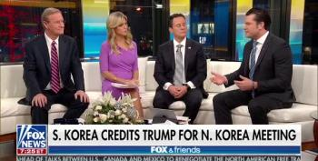 Trump's Fox And Friends Lap Dog Defends 'Bloody Nose' Strike Against North Korea