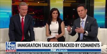 Fox And Friends Orders Trump To Clarify 'Shithole' Comments, So He Does