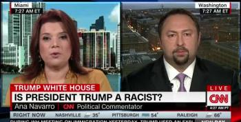 "Ana Navarro Explodes At Trump Surrogate Over His ""Shithole"" Defenses For Trump"