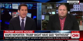 CNN Host Incredulous At Trump's 'Shithouse' Defenders:'Are You F-ing Kidding Me?'