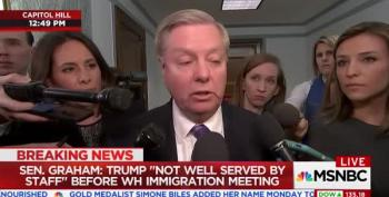 Lindsey Graham Blames Gen. Kelly, Trump And Entire Staff For Reneging On Immigration Deal