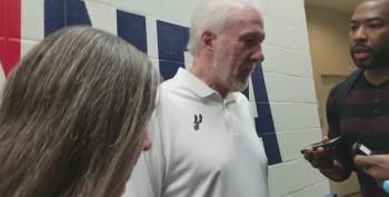 Gregg Popovich On Martin Luther King Day