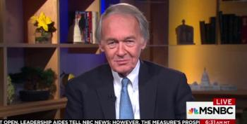 Sen. Markey On Continuing Resolution: 'We're Not Going To Blink' Without DACA
