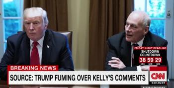 CNN: Trump Is Furious Over Gen. Kelly's Comments On Fox News