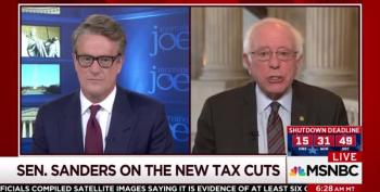 Bernie Sanders Points Out That Republicans Can't Govern