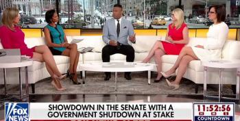 Fox News Goes Full Bore Blaming Democrats For Government Shutdown