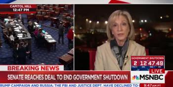 MSNBC Host: Congress Realizes It Must Ignore White House To Get A Deal Done