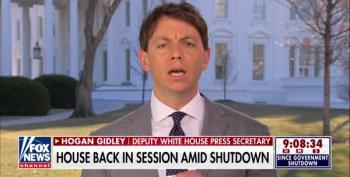 Trump Spokesman Hogan Gidley Gives A Master Class In How To Suck Up To Trump