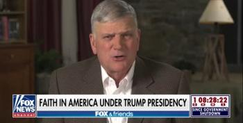 Franklin Graham Whines To His Fox Friends: 'The Left Is Staging A Digital Coup' Against Trump