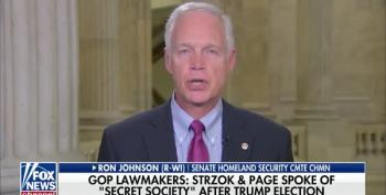 Ron Johnson: 'Secret Society' In FBI Working To Overthrow Trump