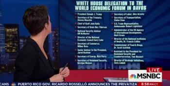 Rachel Maddow:  There's A Trump Clown Car Going To Davos