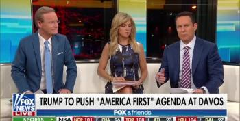 Fox And Friends Gush Over Trump's Davos Appearance