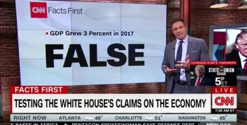 CNN Debunks Trump Administration's Claims About U.S. Economy