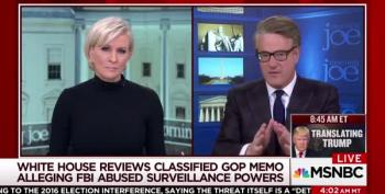 Scarborough: GOP Is Feeding Trump's 'Paranoid And Maniacal Desires'
