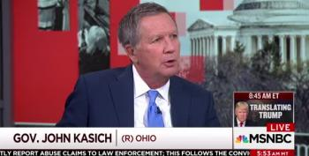 Twitter Busts John Kasich For His 'On Many Sides' Nonsense