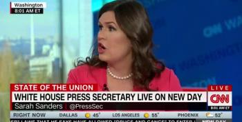 Sarah Huckabee Sanders Says Nancy Pelosi Should Smile More