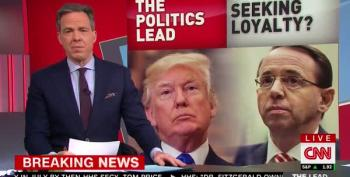 CNN: Trump Demanded Loyalty Oath From Rod Rosenstein