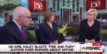 Angry Mika Throws Michael Wolff Off Morning Joe