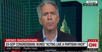 Even Joe Walsh Thinks Devin Nunes Is A Hack