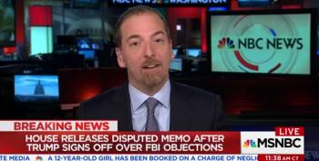Chuck Todd Can't Both-Sider This Nunes/Trump Memo Travesty