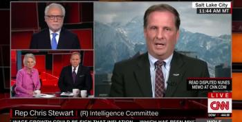 Rep. Chris Stewart Whines To CNN That He's Called A Traitor For Being A Partisan Hack