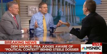 Chuck Todd Allows Meadows And Jordan To Spew Conspiracy Theories About The Steele Dossier