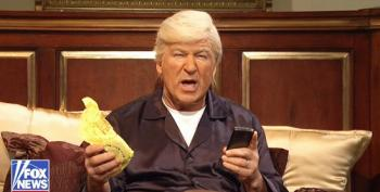 SNL Cold Open: Donald Trump Phones In To His BFFs On Fox & Friends From Bed
