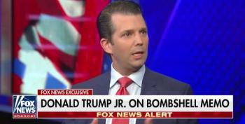Brainiac Don Trump Jr. Strikes Again: Dems Are Both McCarthy And Commies