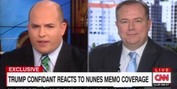 Newsmax CEO Tells Brian Stelter Trump Should Adopt 'Reagan Model' For Investigation