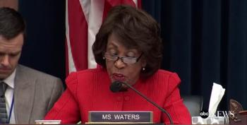 Maxine Waters Slams Steve Mnuchin On Russia Sanctions
