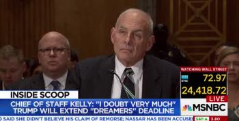 Gen. Kelly: Some Dreamers Were 'Too Lazy To Get Off Their Asses' To Sign Up For DACA