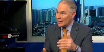 Trump's EPA Chief Says Global Warming Is Good For You