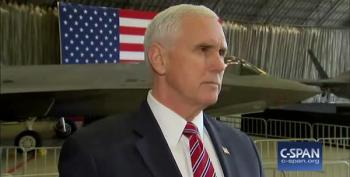 Reporter Confronts Pence Why He's 'Out Of The Loop' On Politically Fraught White House Issues
