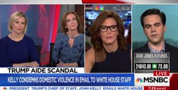 WATCH - Stephanie Ruhle Loses It: No 'Blind Spots' On Domestic Abuse