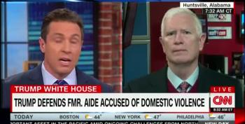 Hypocrite Mo Brooks: Trump Staff Wife Beating Is 'Soap Opera News'