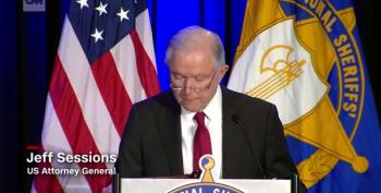 Jeff Sessions Warns Against Eroding 'Anglo-American Heritage Of Law Enforcement'