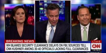 CNN Pundit: Security Clearances Are Slow Because Team Trump Are Outsiders-Style 'Greasers'