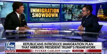 Tucker Carlson Threatens Immigration Attorney And DACA Recipient With Deportation