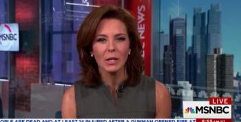 MSNBC Host Chokes Back Tears As She Recounts Mass Shooting Deaths From AR-15s