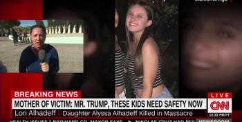 Brooke Baldwin Breaks Down After Mother Of Slain Girl Yells At Donald Trump