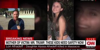 Brooke Baldwin Breaks Down After Mother Of Slain Girl Yells At Donald Trump