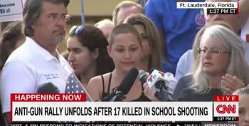Florida Shooting Survivor Speaks At Anti-Gun Rally