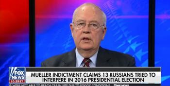 Ken Starr Pretends Latest Mueller Indictments Vindicate Trump