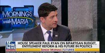 Paul Ryan Blames Deficit Increase On 'Entitlement' Spending