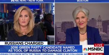 Frantic Jill Stein Tries To Change The Subject