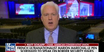 Matt Schlapp Defends White Supremacist Radical Marion Le Pen's CPAC Speech
